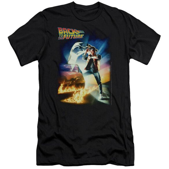 Back To The Future Poster Premuim Canvas Adult Slim Fit