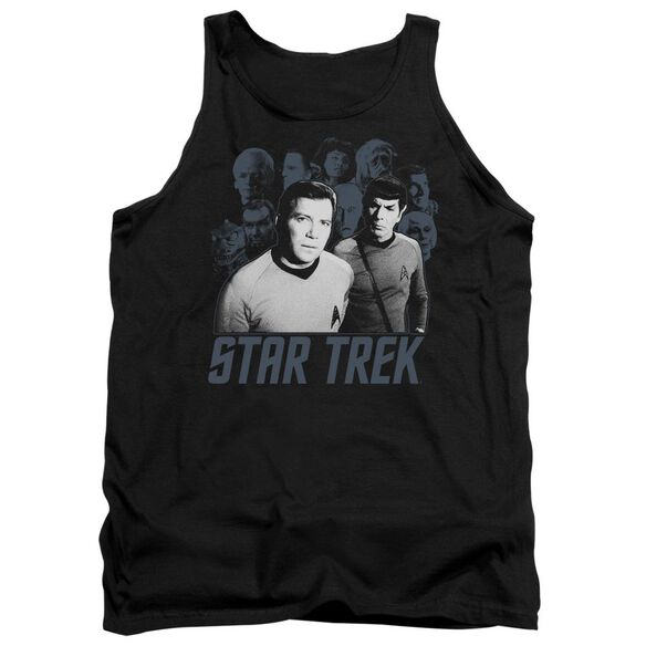 Star Trek Kirk Spock And Company Adult Tank