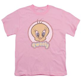 Looney Tunes Retro Tweety Short Sleeve Youth T-Shirt