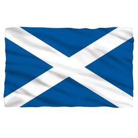 Scotland Flag Fleece Blanket