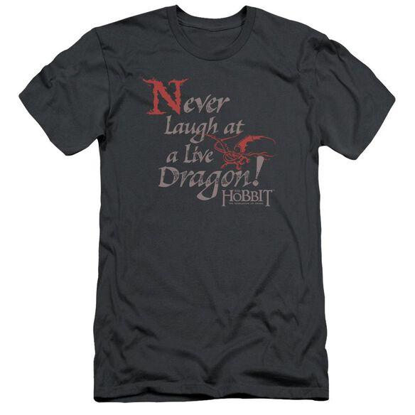 Hobbit Never Laugh Short Sleeve Adult T-Shirt