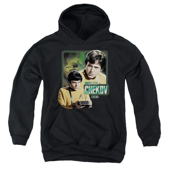 Star Trek Ensign Chekov Youth Pull Over Hoodie