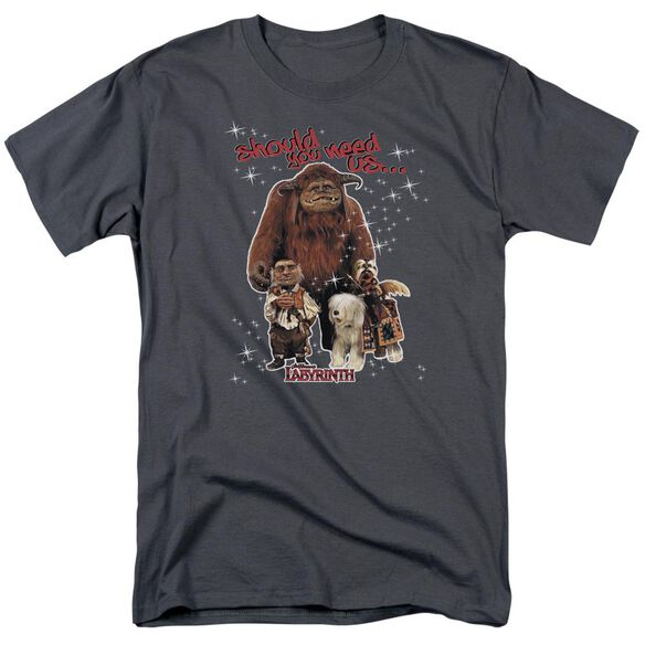 Labyrinth Should You Need Us Short Sleeve Adult T-Shirt