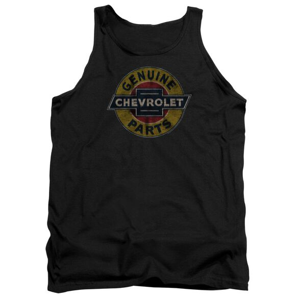 Chevrolet Genuine Chevy Parts Distressed Sign Adult Tank