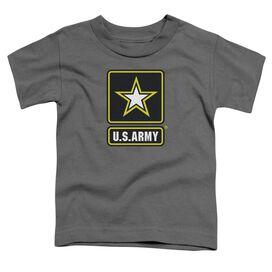 Army Logo Short Sleeve Toddler Tee Charcoal Sm T-Shirt