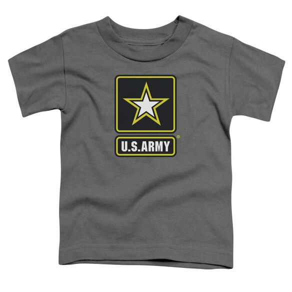 Army Logo Short Sleeve Toddler Tee Charcoal Sm T-Shirt