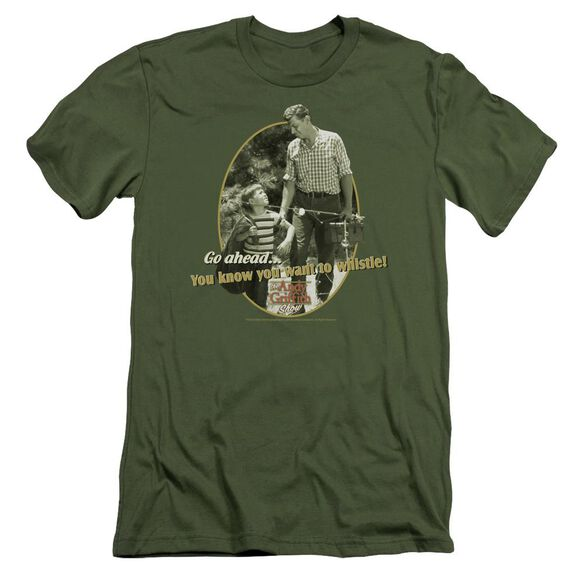 Andy Griffith Gone Fishing Short Sleeve Adult Military T-Shirt
