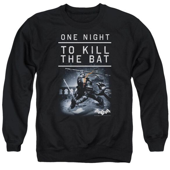 Batman Arkham Origins One Night Adult Crewneck Sweatshirt