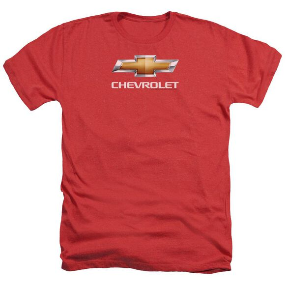 Chevrolet Chevy Bowtie Stacked Adult Heather