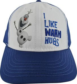 Frozen Olaf I Like Warm Hugs Buckle Youth Hat