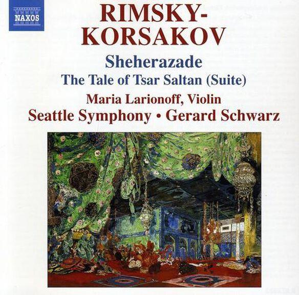 Gerard Schwarz - Sheherazade Tsar Saltan Suite & Flight Bumblebee