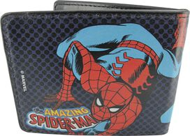 Spiderman Amazing Poses Dots Wallet