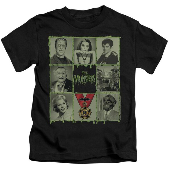 The Munsters Blocks Short Sleeve Juvenile T-Shirt