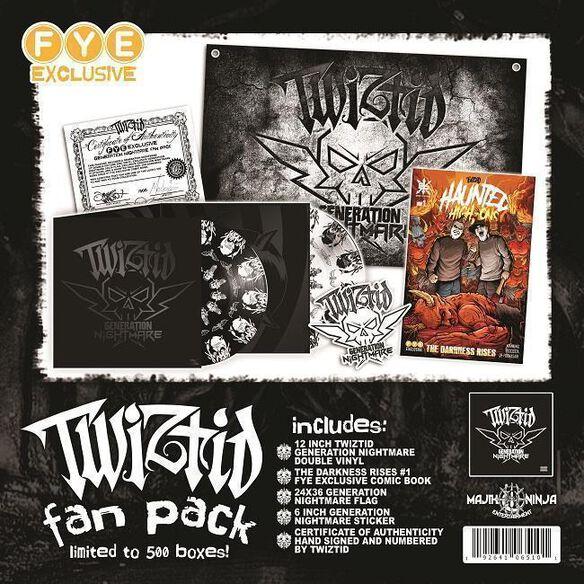 Twiztid - Generation Nightmare [Exclusive Vinyl Fan Pack]