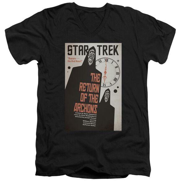 Star Trek Tos Episode 21 Short Sleeve Adult V Neck T-Shirt
