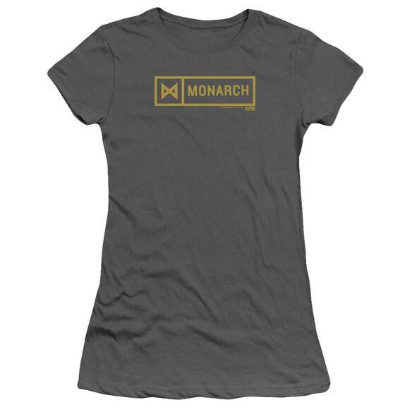 Kong Skull Island Monarch Hbo Short Sleeve Junior Sheer T-Shirt