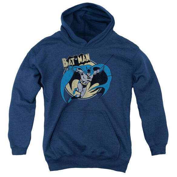 Batman Through The Night Youth Pull Over Hoodie