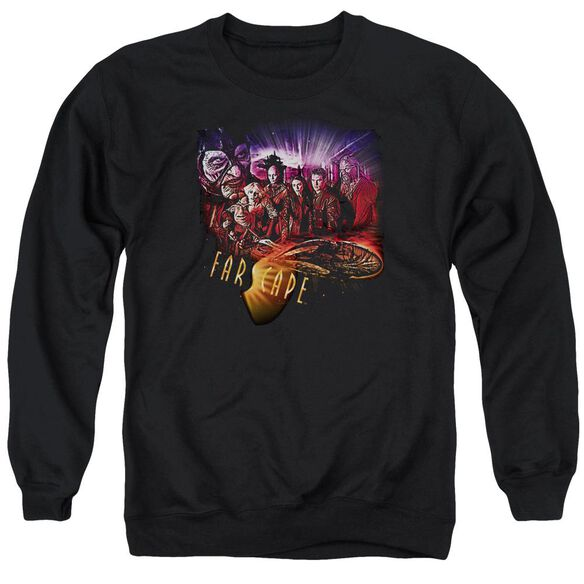 Farscape Graphic Collage Adult Crewneck Sweatshirt