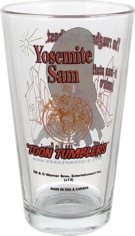 Looney Tunes Yosemite Sam Pint Glass