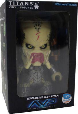 AVP Unmasked Predator Exclusive Titan Vinyl Figure (Buy me early)