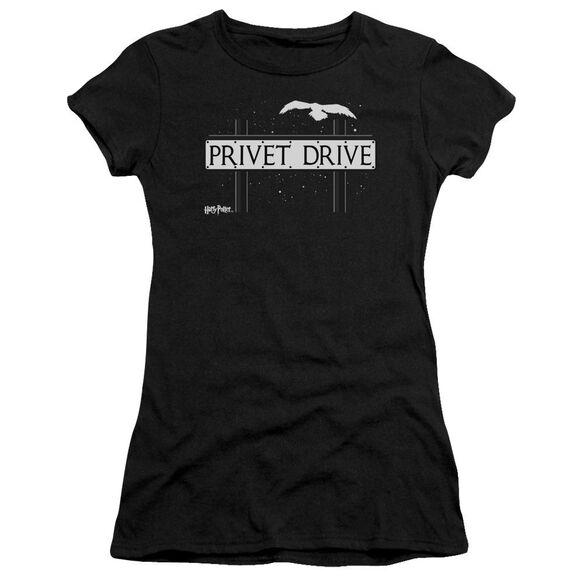 Harry Potter Privet Drive Hbo Short Sleeve Junior Sheer T-Shirt