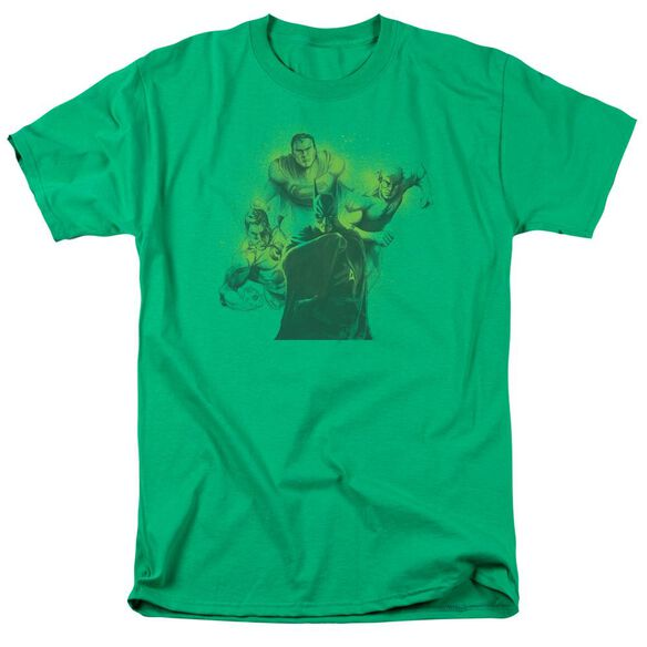 Dco Spray Sketch League Short Sleeve Adult Kelly T-Shirt