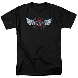 Reo Speedwagon Rendered Logo Short Sleeve Adult T-Shirt