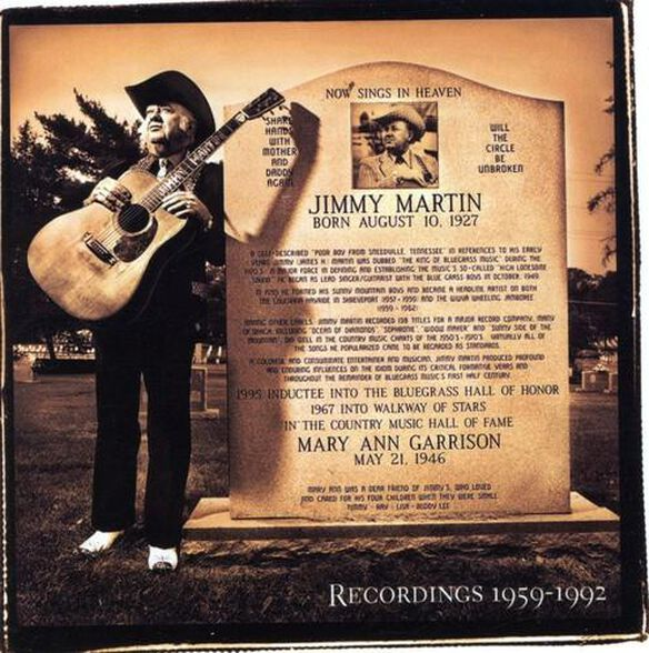 Songs Of A Free Born Man Jimmy Martin / Various