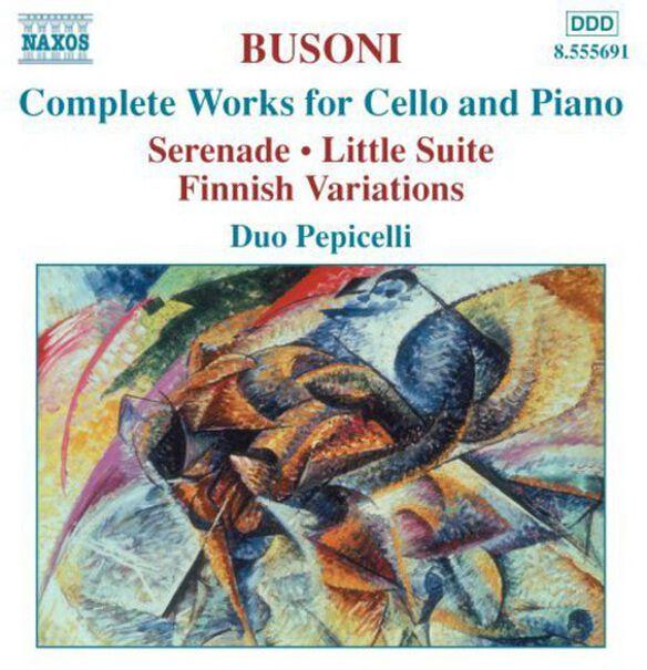 F. Busoni - Complete Works for Cello & Piano