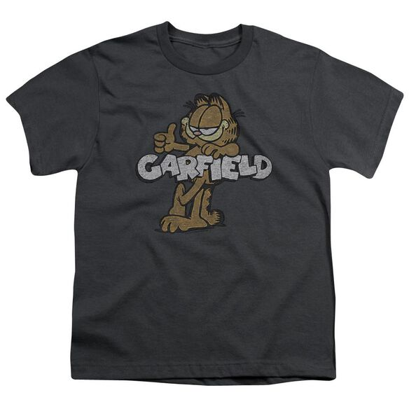 Garfield Retro Garf Short Sleeve Youth T-Shirt