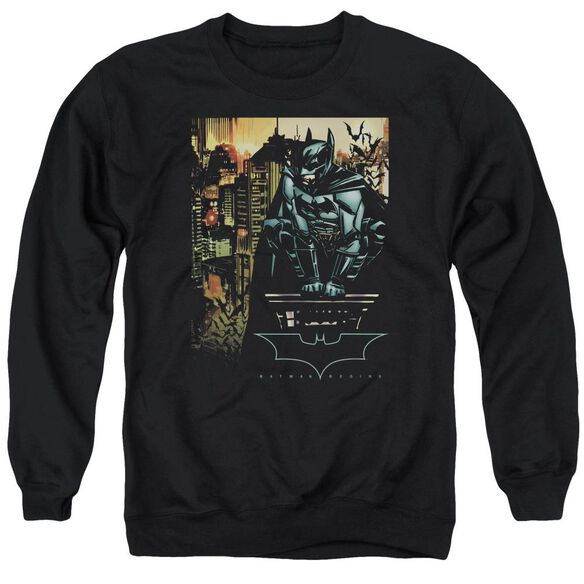 Batman Begins Waiting Adult Crewneck Sweatshirt