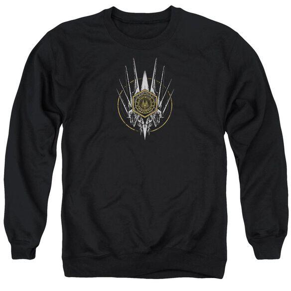 Bsg Crest Of Ships Adult Crewneck Sweatshirt