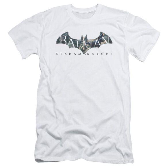 Batman Arkham Knight Descending Logo Short Sleeve Adult T-Shirt