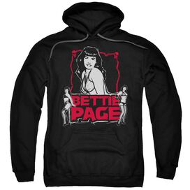Bettie Page Bettie Scary Hot Adult Pull Over Hoodie