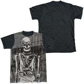 Cbgb Punk You Short Sleeve Adult Front Black Back T-Shirt