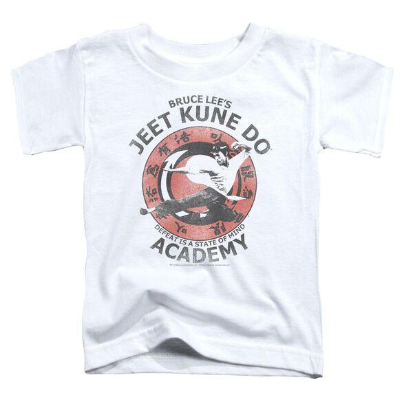 Bruce Lee Jeet Kune Short Sleeve Toddler Tee White Lg T-Shirt