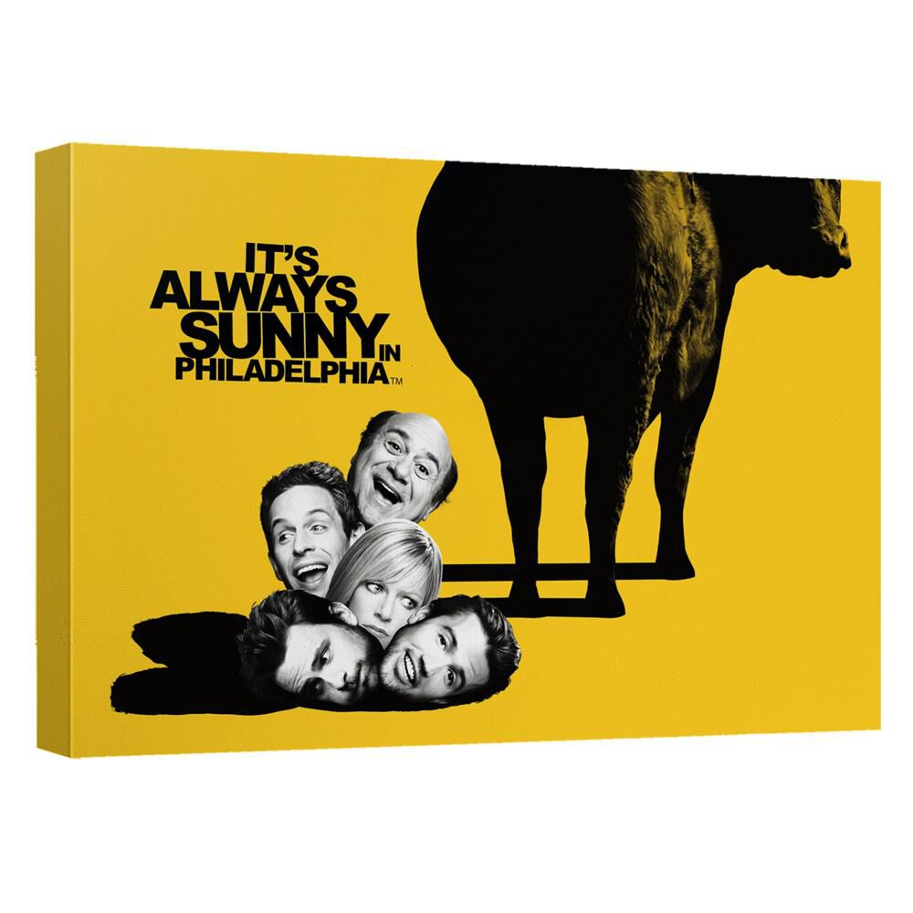 Its Always Sunny In Philadelphia Dropping In Canvas Wall Art With ...
