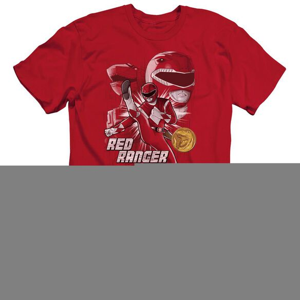 Power Rangers Ranger Short Sleeve Adult T-Shirt