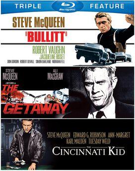 Bullitt / The Getaway / The Cincinnati Kid