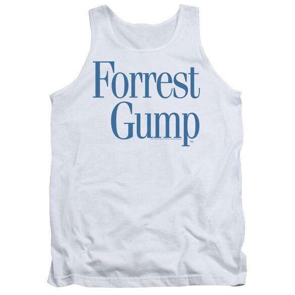 Forrest Gump Logo Adult Tank