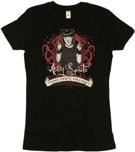NCIS Abby Goth Crime Fighter Juniors T-Shirt