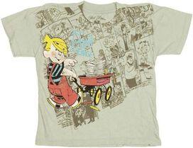 Dennis the Menace Wagon Juvenile T-Shirt
