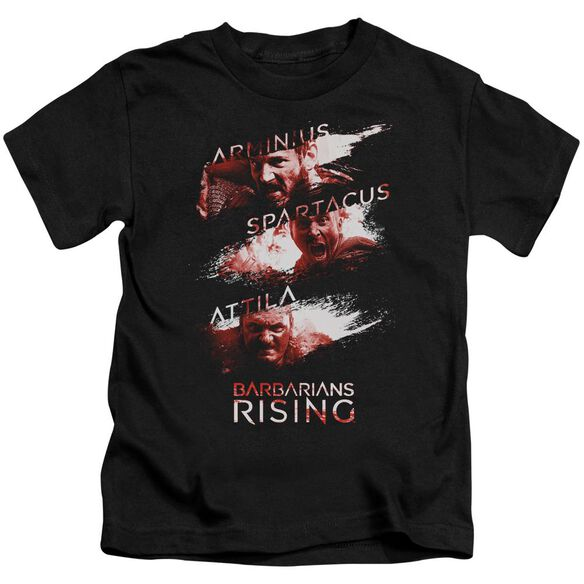 Barbarians Rising Barbarian Splash Short Sleeve Juvenile T-Shirt