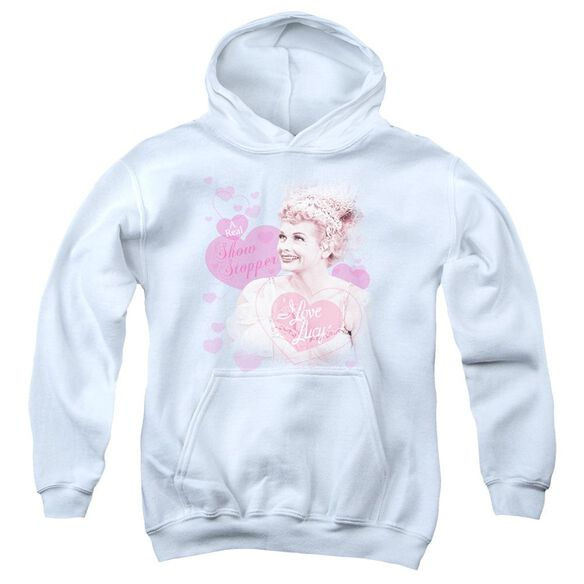 I Love Lucy Show Stopper Youth Pull Over Hoodie
