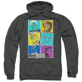 Super Mansion Super Comic Adult Pull Over Hoodie