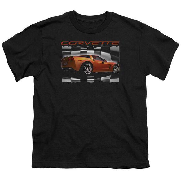 Chevrolet Orange Z06 Vette Short Sleeve Youth T-Shirt