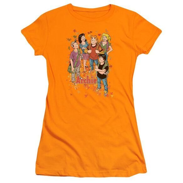 Archie Comics Colorful Short Sleeve Junior Sheer T-Shirt