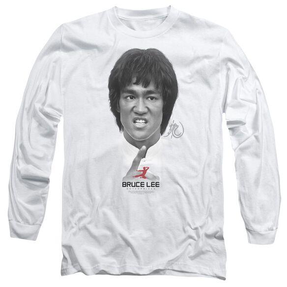Bruce Lee Self Help Long Sleeve Adult T-Shirt