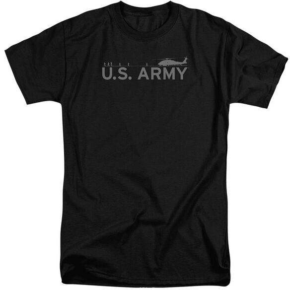 Army Helicopter Short Sleeve Adult Tall T-Shirt