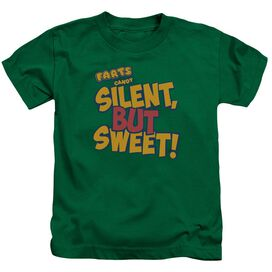 Farts Candy Silent But Sweet Short Sleeve Juvenile Kelly T-Shirt